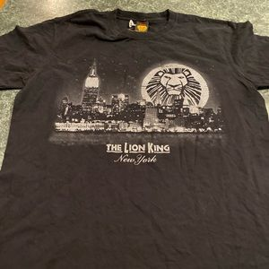 The Lion King New York Tee Size XL